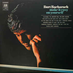 Burt Bacharach - Make it Easy on Yourself   - Vinyl LP - Opened  - Good Quality (G)