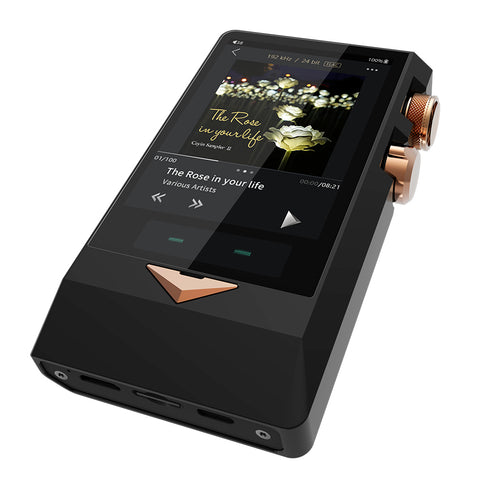 Cayin N8 (Black Version) Vacuum Tube and Solid State Digital Audio Player (DAP) (Ships in 2-3 Weeks) - C-Plan Audio