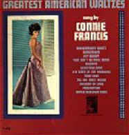 Connie Francis - Greatest American Waltzes - Vinyl LP Record - Opened  - Very-Good+ Quality (VG+)