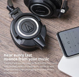 FiiO - BTA10 Bluetooth Adapter and Amplifier for Audio Technica ATH-M50X with aptX/AAC Support
