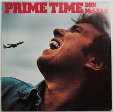Don McLean - Prime Time  - Vinyl LP - Opened  - Very-Good+ Quality (VG+)