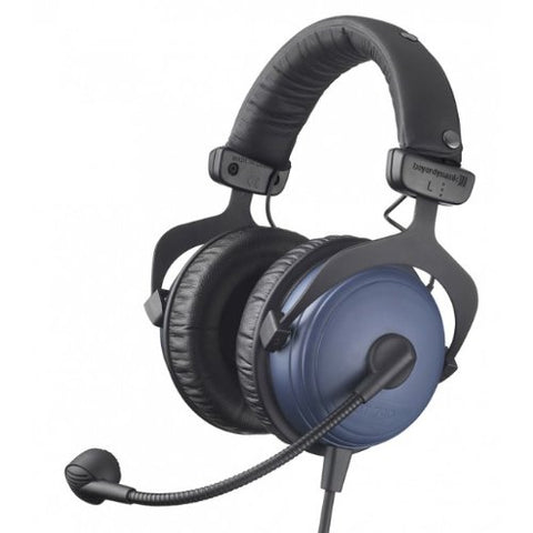 Beyerdynamic DT-790 80 Ohm Closed Headset with Dynamic Microphone and 5-Foot 4-Pin XLR Cable - (Ships Next Day) (DT790)