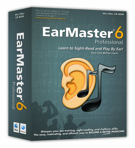 EarMaster Pro 6 - Ear Training for Musicians - over 2000 lessons