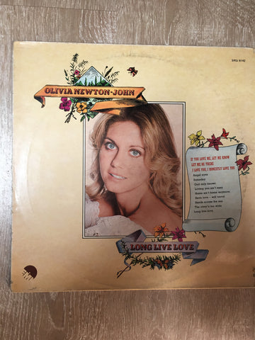 Olivia Newton-John - Long Live Love  - Vinyl LP - Opened  - Good Quality (G)