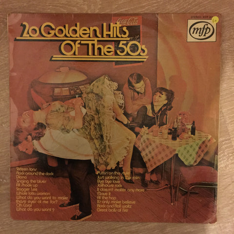 20 Golden Hits Of The 50's - Good+ Quality (G+)