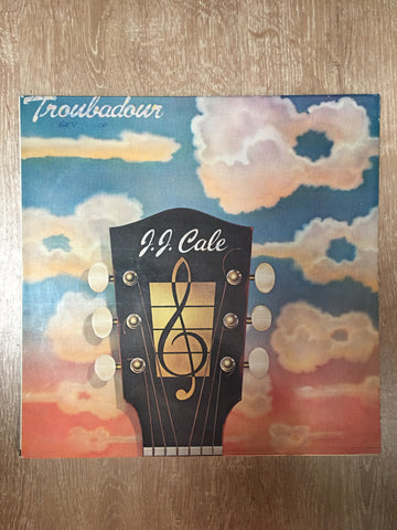 J.J. Cale - Troubadour (JJ) - Vinyl LP - Opened  - Very-Good Quality (VG) - C-Plan Audio