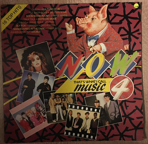 Now That's What I Call Music Vol 4 - Original Artists - Vinyl LP Record - Opened  - Very-Good Quality (VG) - C-Plan Audio