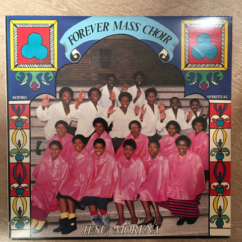 Forever Mass Choir - Jesu Morena - Vinyl LP Record Opened - Very Good+ (VG+)