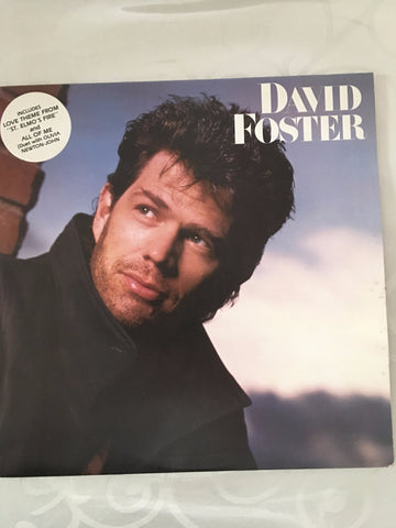 David Foster ‎– David Foster - Vinyl LP - Opened  - Very-Good+ Quality (VG+)