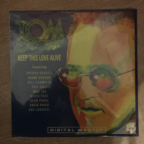 Tom Scott - Keep This Love Alive - Vinyl LP - Sealed - GRP Digital  Master Series