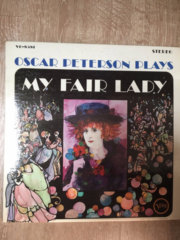 Oscar Peterson ‎– Oscar Peterson Plays My Fair Lady - Vinyl LP - Opened  - Very-Good+ Quality (VG+)