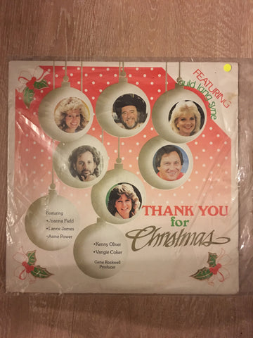 Thank You for Christmas  - Vinyl LP - Opened  - Very-Good+ Quality (VG+)