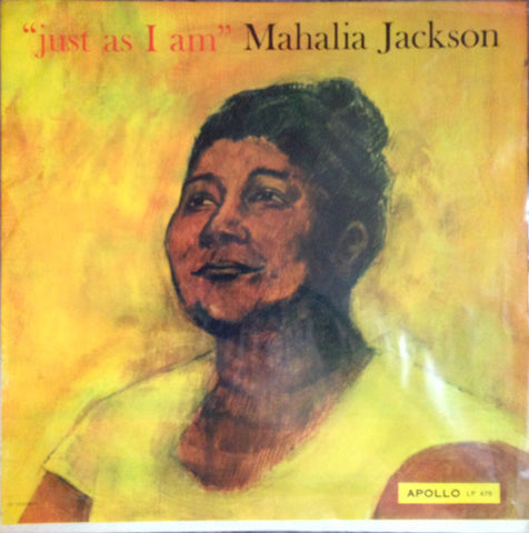 Mahalia Jackson - Just as I am  - Vinyl LP - Opened  - Good Quality (G)