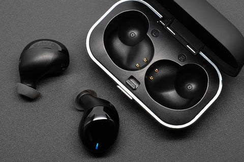 Model X Bluetooth Truly Wireless Audiophile Earphones with Charging Case - Automatic Pairing, BT 5.0, Sweatproof IPX-5 Certified-  by Advanced Sound Group (Ships Next Day) - C-Plan Audio