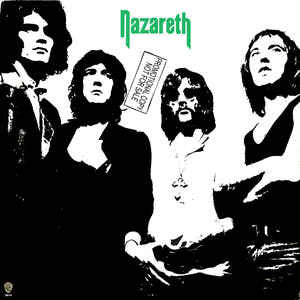 Nazareth - Nazareth - Vinyl LP - Opened  - Very-Good+ Quality (VG+) - C-Plan Audio