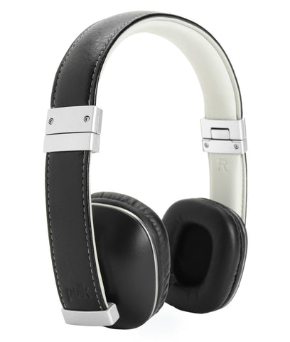 Polk Audio Hinge Headphones - Black/Silver - with 3 button remote and in-linemicrophone - CPlan Audio  - 1