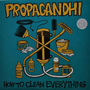 Propagandhi - How to Clean Everything - Vinyl LP - Opened  - Very-Good+ Quality (VG+)