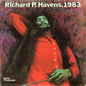 Richard P. Havens, 1983  - Double Vinyl LP - Opened  - Very-Good Quality (VG)