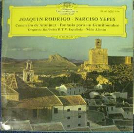 Rodrigo & Yepes-Concierto de Aranjuaz-Deutsche Grammophon - Opened Vinyl - Near Mint Condition - CPlan Audio