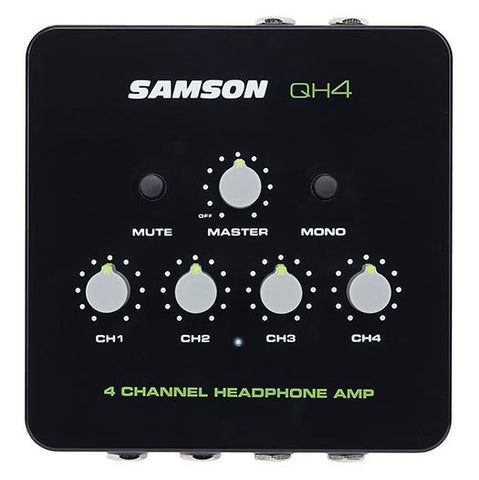 Samson Samson QH4 4-Channel Headphone Amplifier (Ships in 3-5 days)