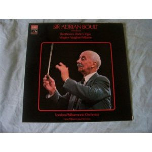 Sir Adrian Boult Beethoven/Brahms - Opened Vinyl - Near Mint Condition - C-Plan Audio