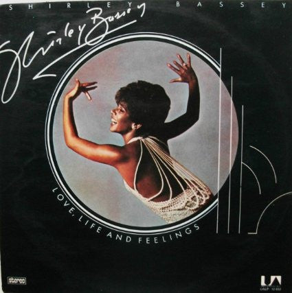 Shirley Bassey ‎– Love, Life And Feelings - Vinyl LP Opened - Very-Good (VG+) Condition - C-Plan Audio