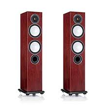 Monitor Audio - Silver Series 6 - Floorstanding Speaker - Pair - Rosenut (Boxed Showroom Unit) (Ships Next Day) (C-Plan Audio Specials)