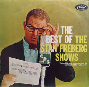 The Best of the Stan Freberg Shows - Vinyl LP - Opened  - Very Good Quality (VG)