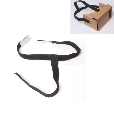 VR 3 way Head  Strap with Velcro fittings (excludes Headset unit) - C-Plan Audio