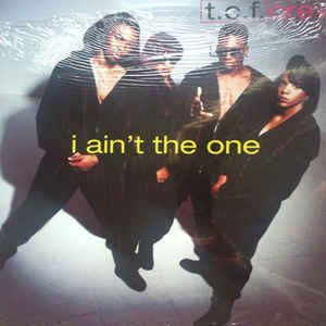 T.C.F. Crew ‎– I Ain't The One - Vinyl LP - Opened  - Very Good Quality (VG) - Rare Promo Album - C-Plan Audio