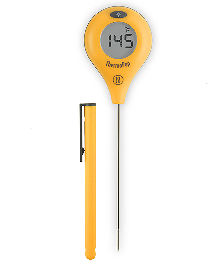 ThermoPop&® Super-Fast® Thermometer - Yellow