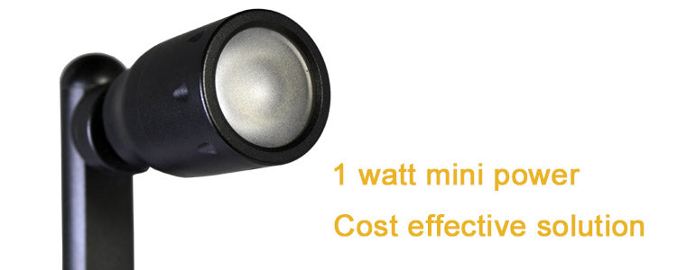 1w mini power led cabinet display light