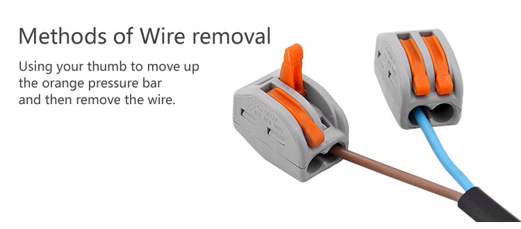 methods of wire removal