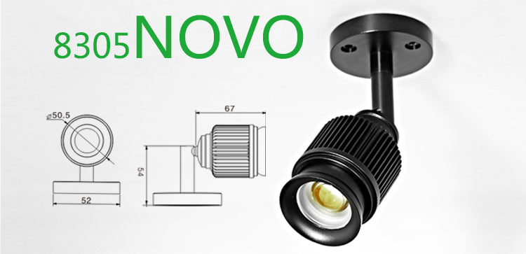 8305 novo Surface Mounted led foucs spotlight