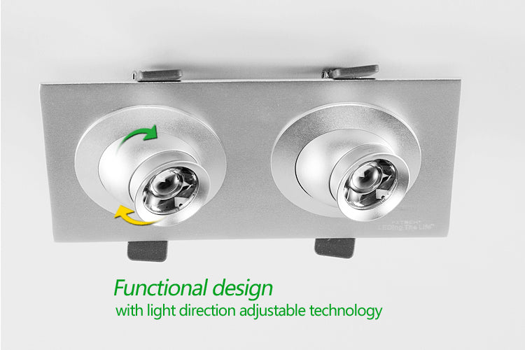 functional design with light direction adjustable technology
