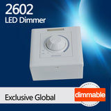 2602 LED Dimmer with infrared remote control,Dimmable LED focus spotlight lighting fixture,customized lighting