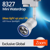 8327 Mini Waterdrop LED Track Focus Spotlight