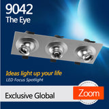 9042 the eye LED focus lighting fixture for office leisure area lighting