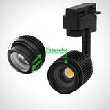 8306 Novo LED focus track spotlight for museum lighting