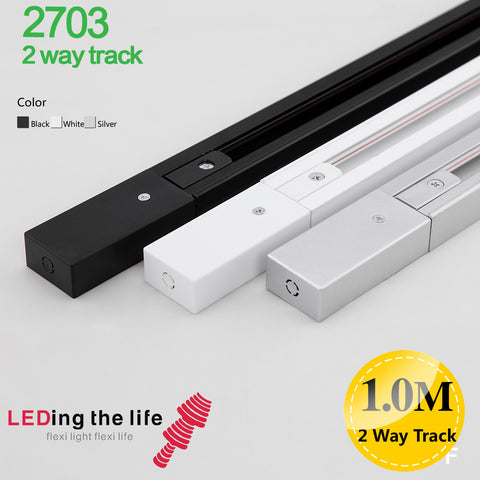2702,  2/3/4  wires track  for LED focus track light from LEDing the life