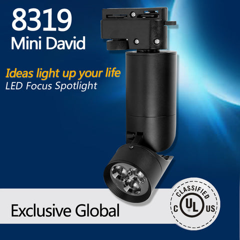 8319 Mini David dimmable LED Track Spotlight