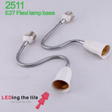 2511 E27 lamp holder with flexiable pipe application