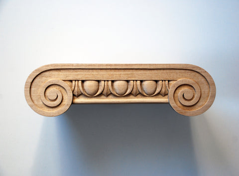 Ionic Capital for Square Column