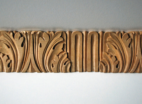 Acanthus-and-Flute Moulding