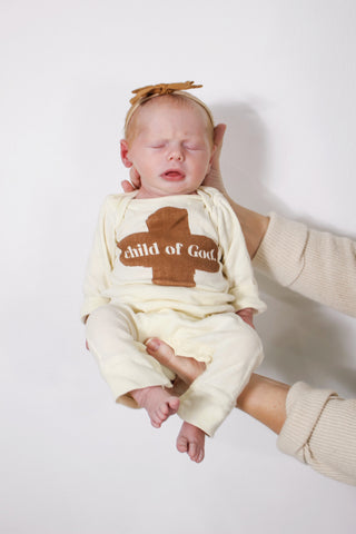 Child Of God Infant Snap Onesie
