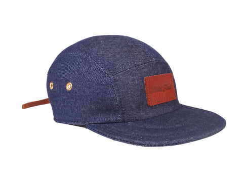 Denim 5-Panel Hat