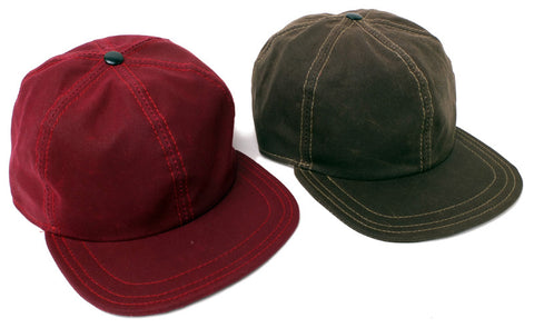 Hold Fast™ 6 Panel Waxed Canvas Hat