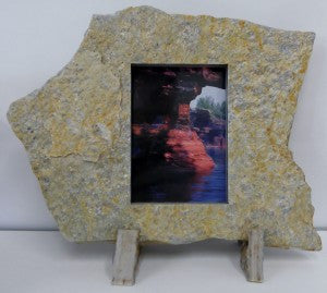 "5""x7"" Portrait Solid Stone Frame (Sale)"