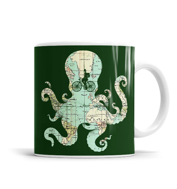 All Around The World 11 OZ Ceramic Mug, Mugs - ultykhopdi - Design By Enkel Dika, ultykhopdi.com