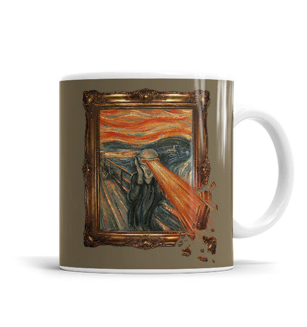 Art Attack 11 OZ Ceramic Mug, Mugs - ultykhopdi - Design By Enkel Dika, ultykhopdi.com